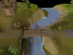 Emote clue - spin barbarian village bridge.png