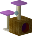 Teak scratching post built.png