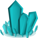 Cyan crystal (Tale of the Righteous) detail.png