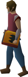 Tome of fire (empty) equipped.png