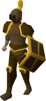 Bronze gold-trimmed set (lg) equipped.png