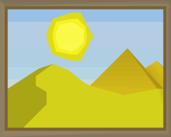 The desert (painting) built.png