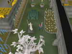 Emote clue - anger saradomin statue.png