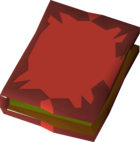 Fossil island note book detail.png