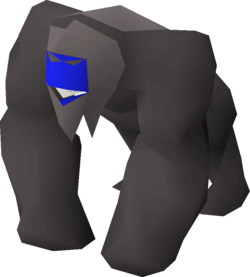 Ancient gorilla greegree equipped.png
