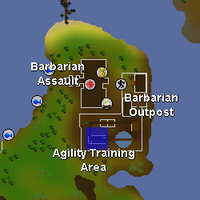 Hot cold clue - Barbarian agility course map.png