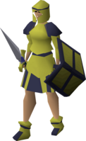 Decorative armour (gold plateskirt) equipped.png