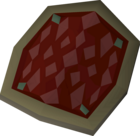 Red d'hide shield detail.png