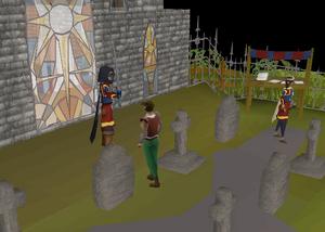 A Player In Deadman Mode