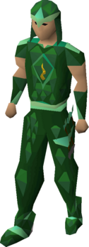 Guthix blessed dragonhide armour equipped.png