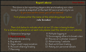 Code of Conduct - OSRS Wiki